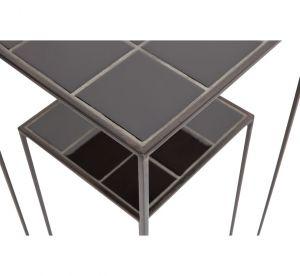 Zeger plantentafel set van 2 zwart