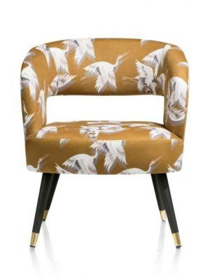 Coco-Maison Megan fauteuil okergeel