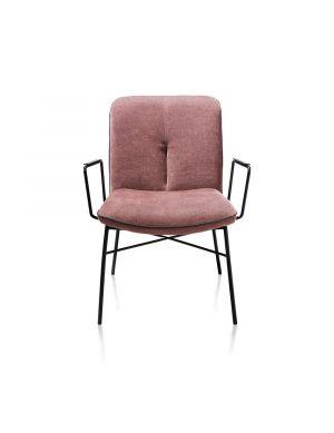 Xooon Quint lounge fauteuil roze