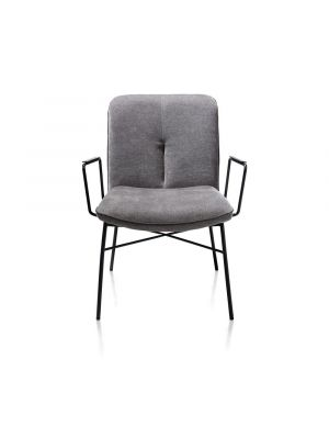 Xooon Quint lounge fauteuil antraciet