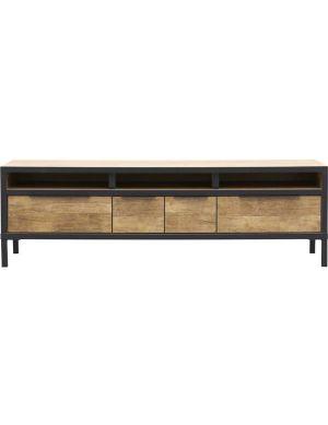 Valence tv-meubel 172 cm old teak