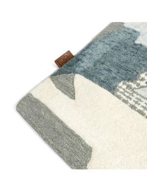 Coco-Maison Lexi karpet blauw 230 x 160 cm