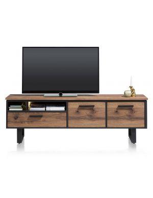 Henders & Hazel Oxford tv-meubel 190 cm choco bruin