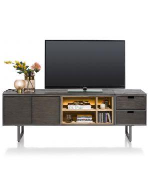 Xooon Moniz tv meubel 140 cm + aankoppelbaar module