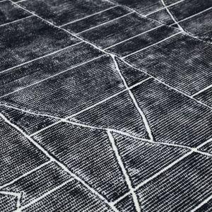 Maximo karpet zwart