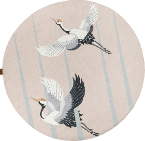 Coco-Maison Stork karpet 150 cm roze