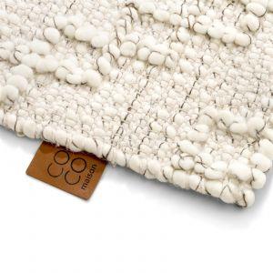 Coco-Maison Dominique karpet 190x290 wit
