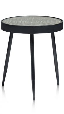 Coco-Maison Reese bijzettafel h 51 cm zwart