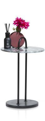 Coco-Maison Livius bijzettafel H 51 cm zwart