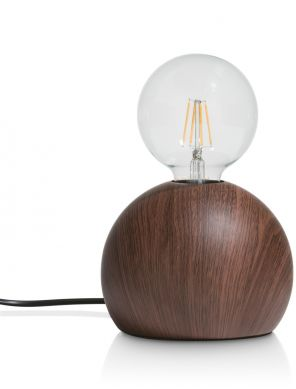 Coco-Maison Skylar tafellamp antraciet