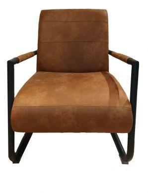 Henders & Hazel Angelica fauteuil corsica cognac