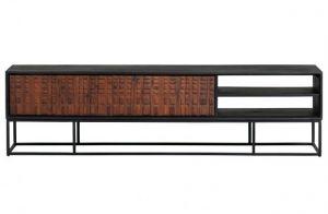 Nuts tv-meubel 175cm Sheeseam hout