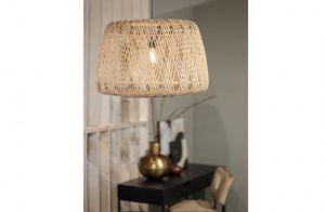 Moza hanglamp 70cm bamboe naturel