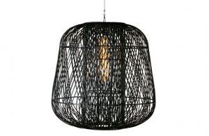 Moza hanglamp 100cm bamboe zwart