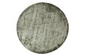 Ravel karpet rond 250cm warm groen