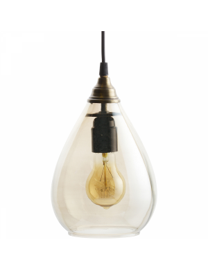 Trendhopper Simple hanglamp m antique brass