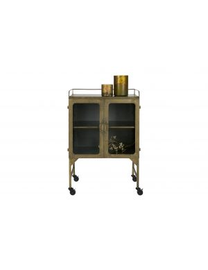 BepureHome Talent opbergkast metalen antique brass