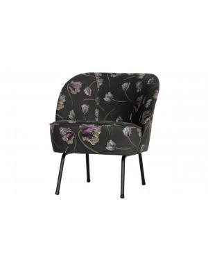 Vogue fauteuil fluweel rococo Aloe