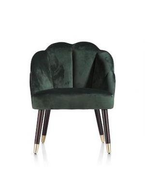 Raya fauteuil groen
