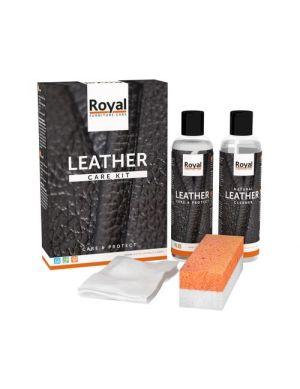 Leather care kit (creme en cleaner)
