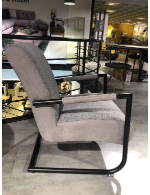 Angelica fauteuil met zwart frame