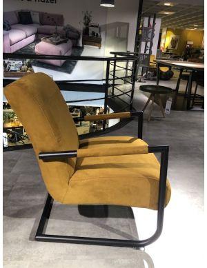 Angelica fauteuil oker geel showmodel