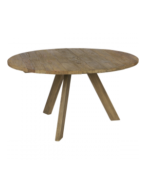 Tondo eettafel naturel