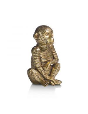 Monkey spaarpot goud