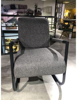 Henders & Hazel Angelica fauteuil met zwart frame