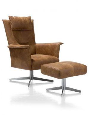 Carola fauteuil cognac