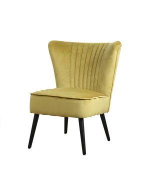 Est fauteuil okergeel