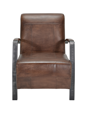 Lima fauteuil Tobacco SHOWMODEL